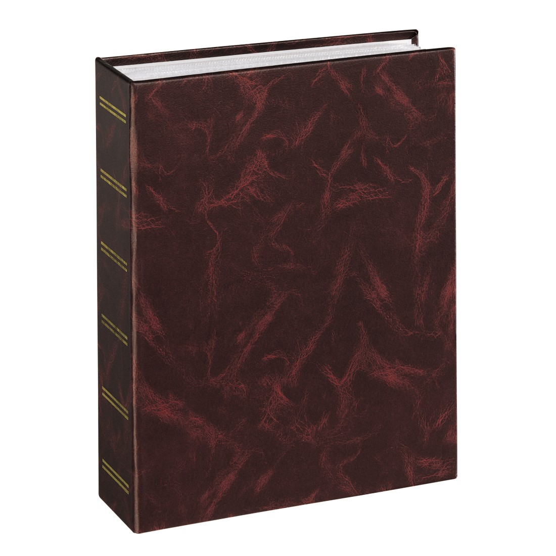 "abx High-Res Image - Hama, ""Birmingham"" Slip-in Album for 200 photos w. a size of 9x13 cm, burgundy"