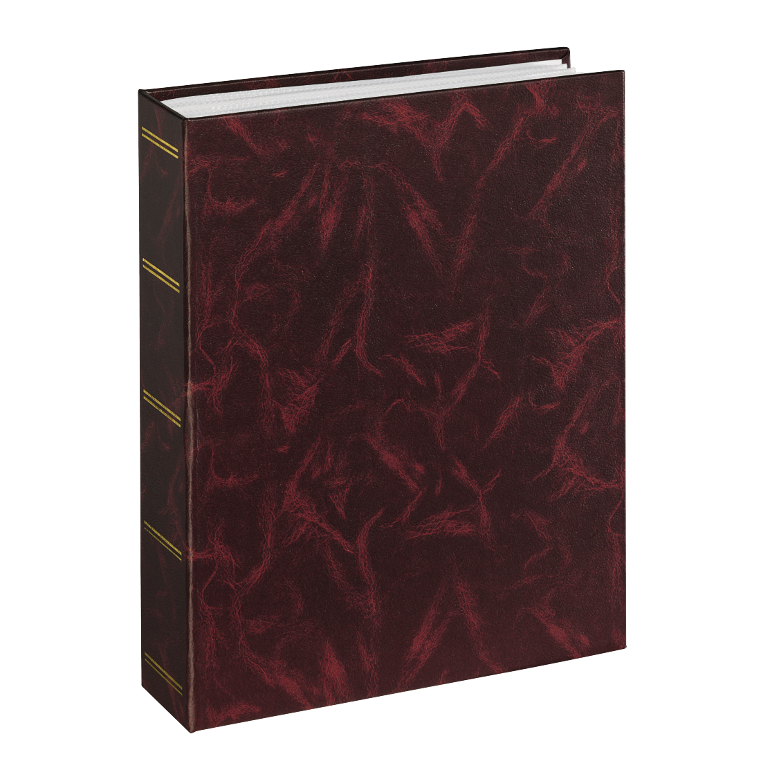 "abx High-Res Image - Hama, ""Birmingham"" Minimax Album for 100 Photos with a size of 13x18 cm, burgundy"