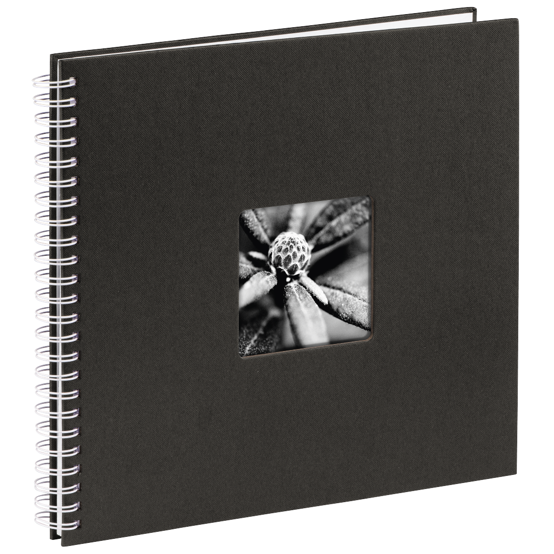 "abx High-Res Image - Hama, ""Fine Art"" Spiral Album, 36x32 cm, 50 white pages, black"