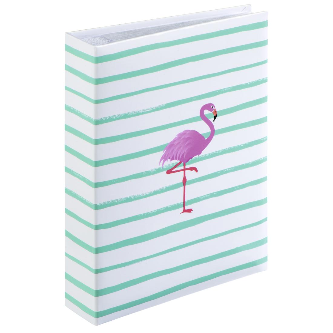 00001968 Hama Flamingo Stripes Memo Album For 200 Photos With A Size Of 10x15 Cm Hama De