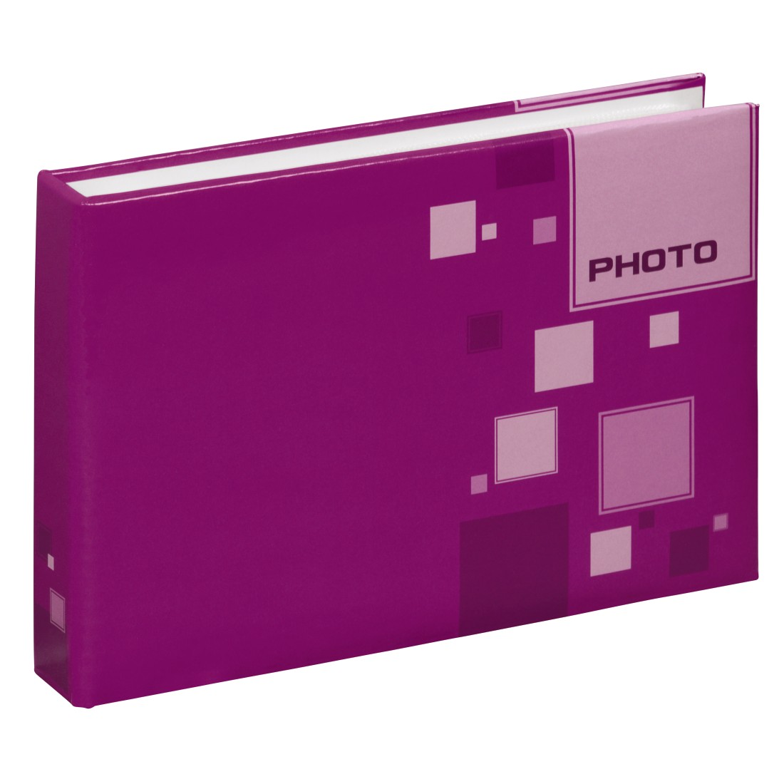 "dex High-Res Detail - Hama, ""Cubetto"" Mini Slip-in Album for 24 photos with a size of 10x15 cm, sorted"