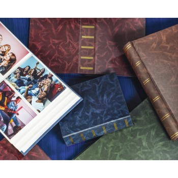 "fam Product Family - Hama, ""Birmingham"" Slip-in Album for 200 photos w. a size of 9x13 cm, burgundy"