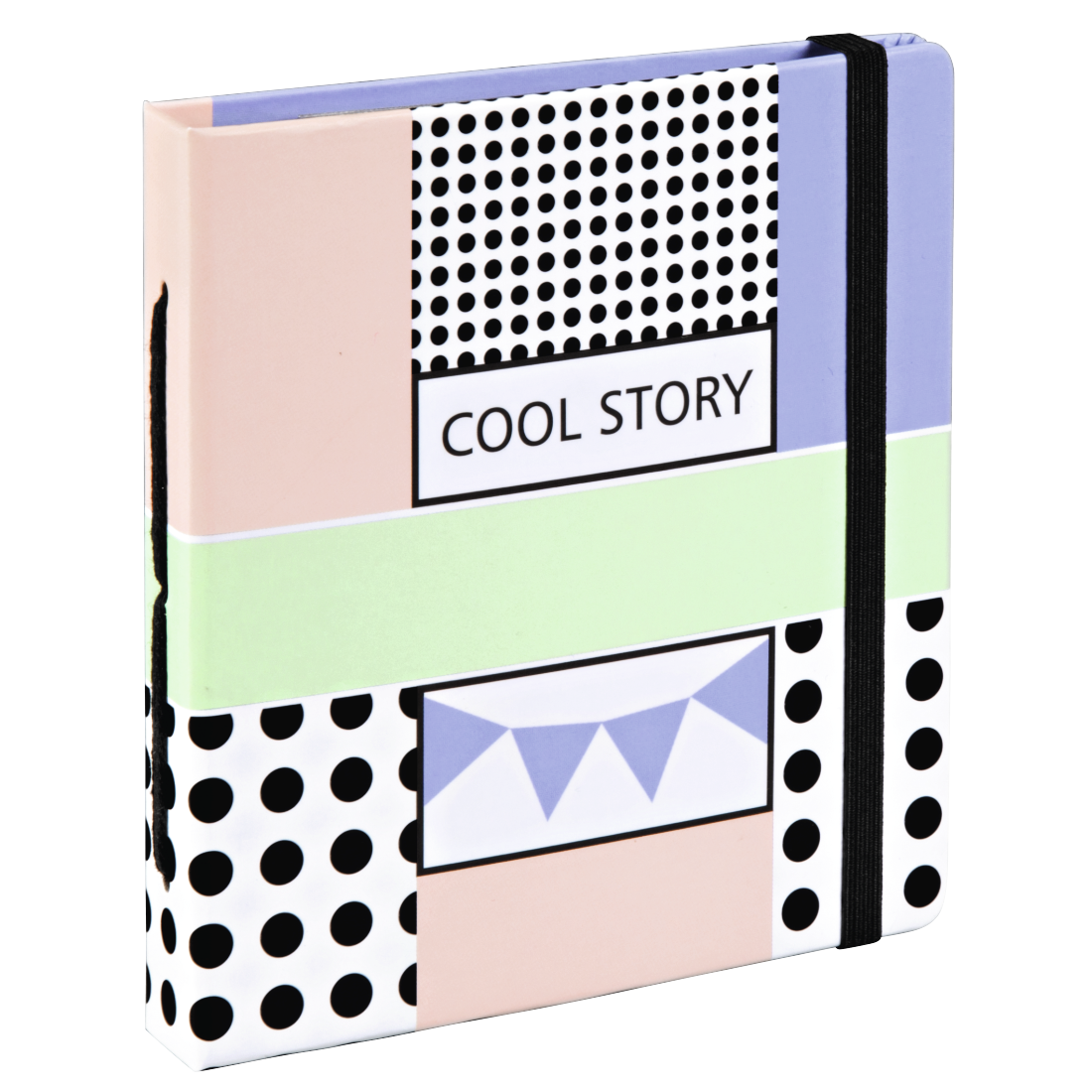 "abx High-Res Image - Hama, ""Cool Story"" Slip-In Album, for 56 Instant Photos up to max. 5.4 x 8.6 cm"