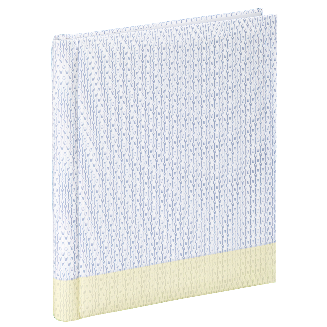 "abx High-Res Image - Hama, ""Filigrana"" Self-Adhesive Album, 24x29 cm, 20 white pages, pastel yellow"