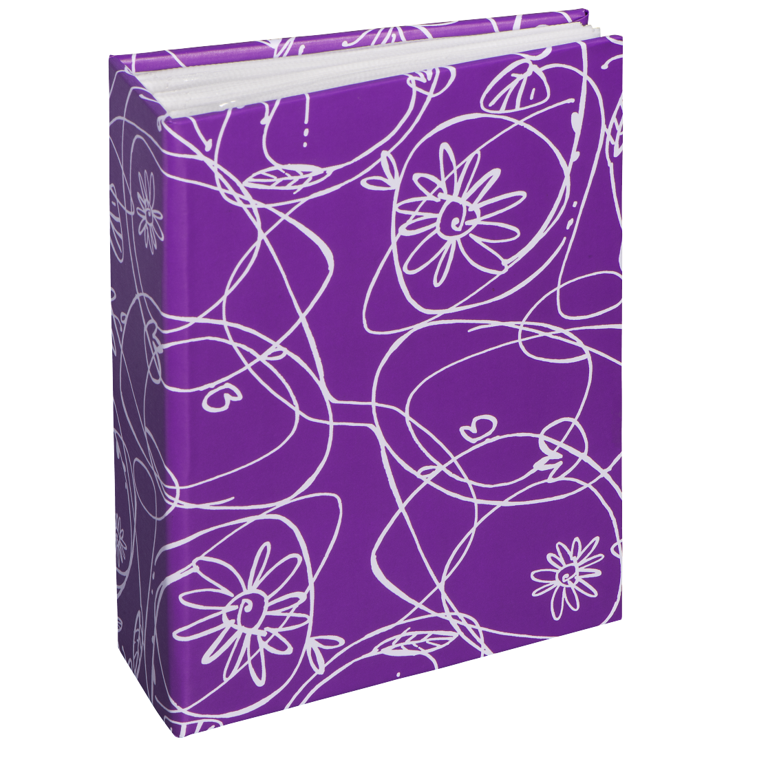 "abx High-Res Image - Hama, ""Decori II"" Minimax Album for 100 photos with a size of 10x15 cm, purple"