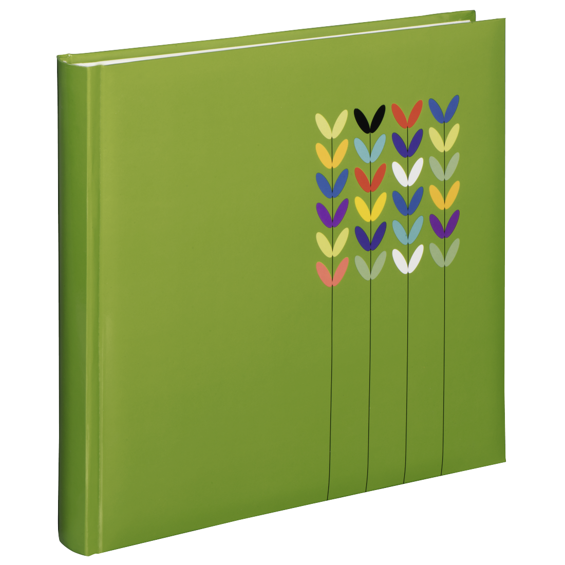 "abx High-Res Image - Hama, ""Blossom"" Jumbo Album, 30x30 cm, 80 white pages, green"
