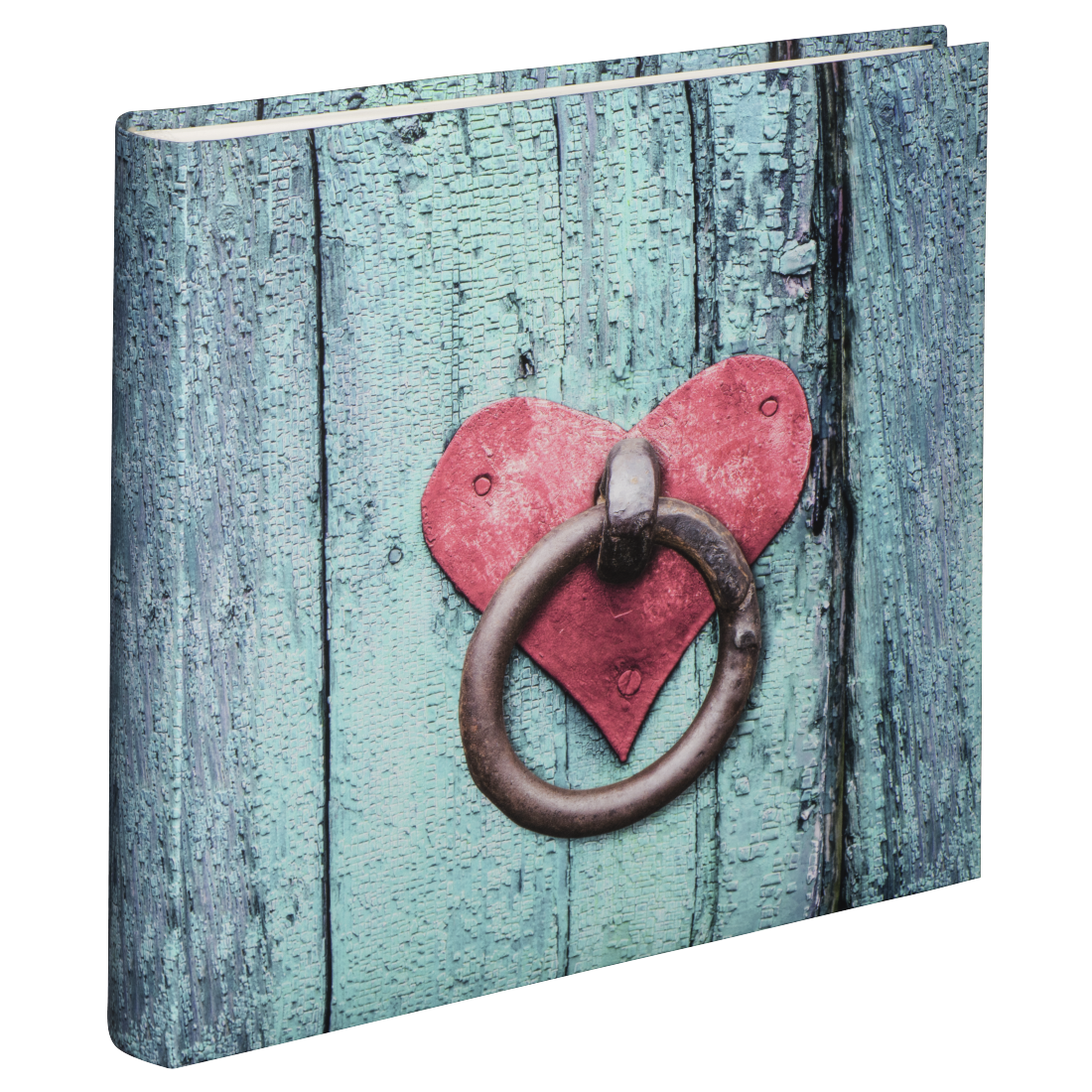 "abx High-Res Image - Hama, ""Rustico"" Jumbo Album, 30 x 30 cm, 100 white pages, Door Knocker"