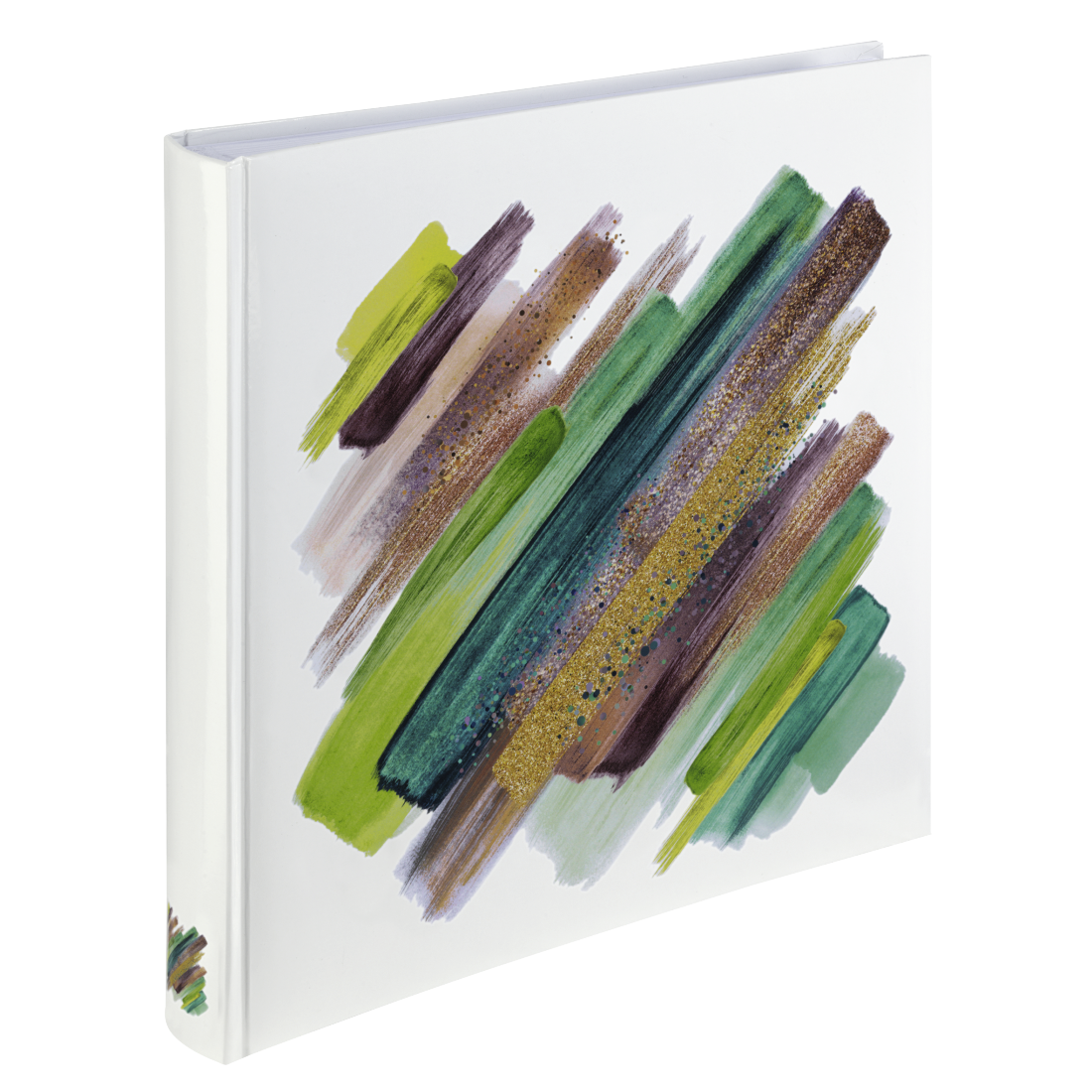 "abx High-Res Image - Hama, ""Brushstroke"" Jumbo Album, 30x30 cm, 80 white pages, green"