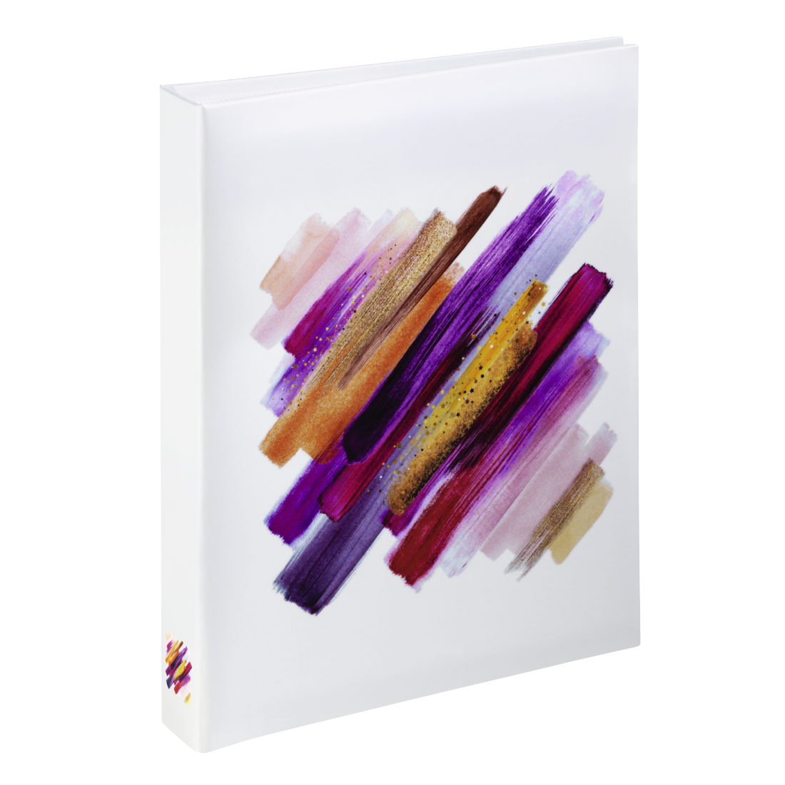 "abx High-Res Image - Hama, ""Brushstroke"" Mini Slip-in Album for 24 photos with a size of 10x15 cm, red"