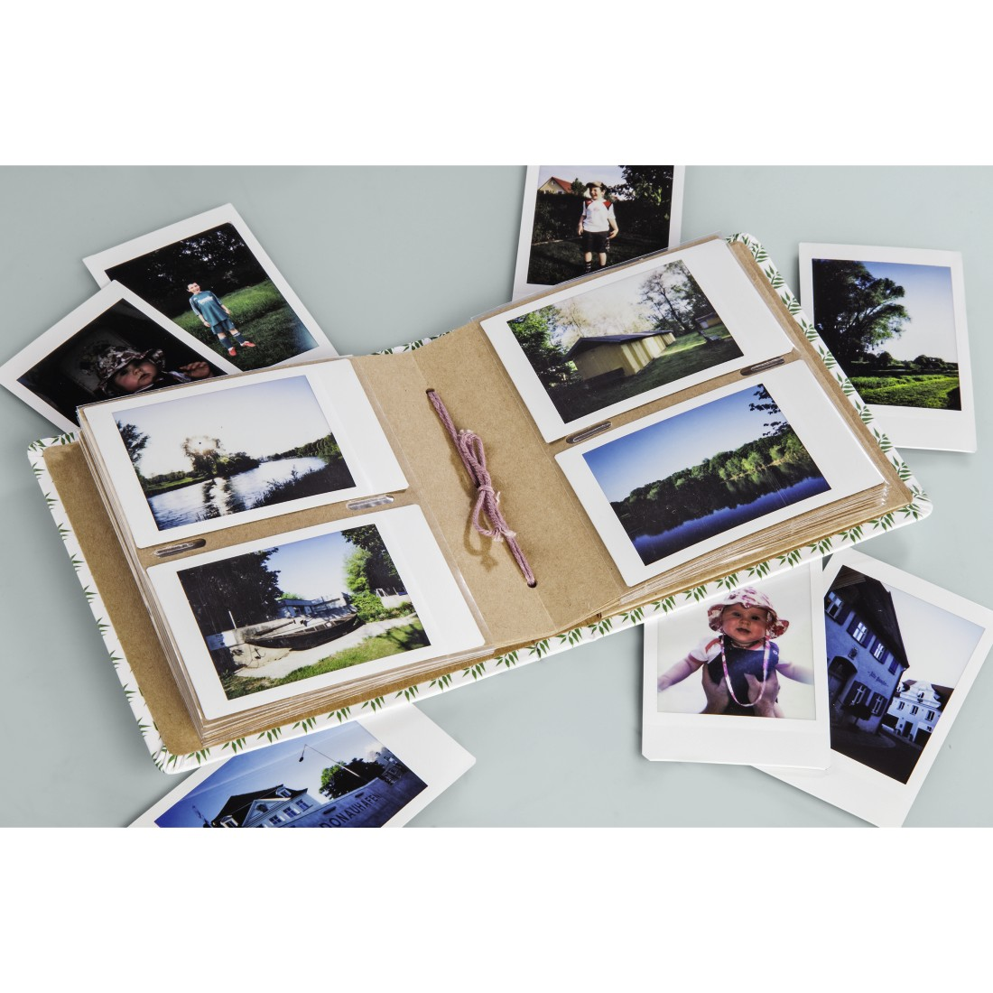 "awx High-Res Appliance - Hama, ""Cool Story"" Slip-In Album, for 56 Instant Photos up to max. 5.4 x 8.6 cm"