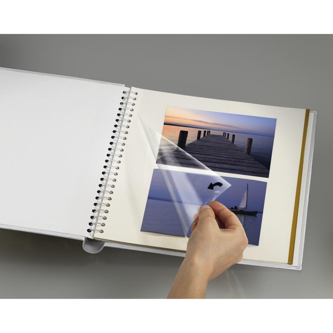 00002429 Hama Filigrana Self Adhesive Album 24x29 Cm 20 White