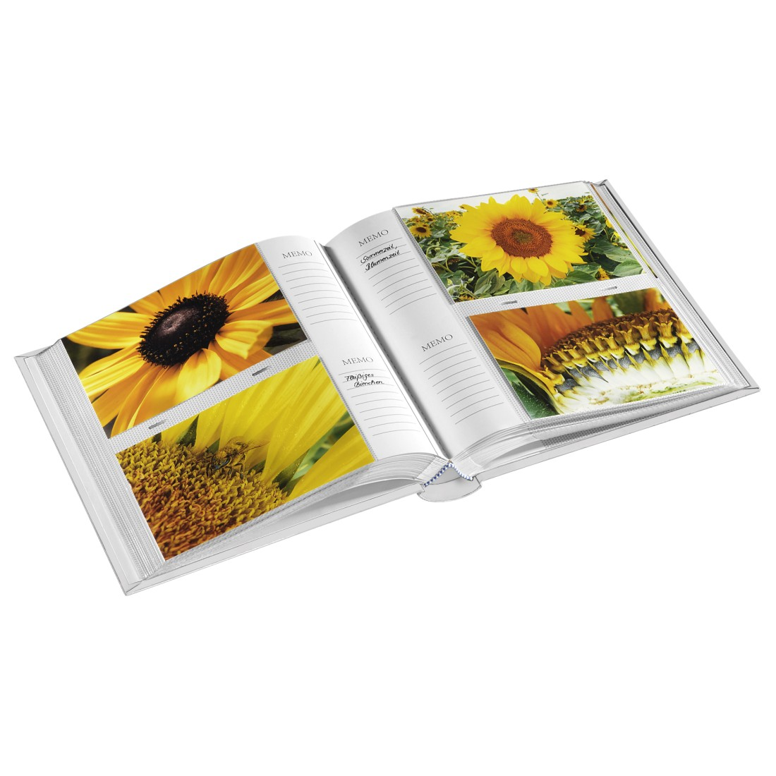 "awx High-Res Appliance - Hama, ""Andria"" Memo Album, for 200 photos with a size of 10x15 cm, white"