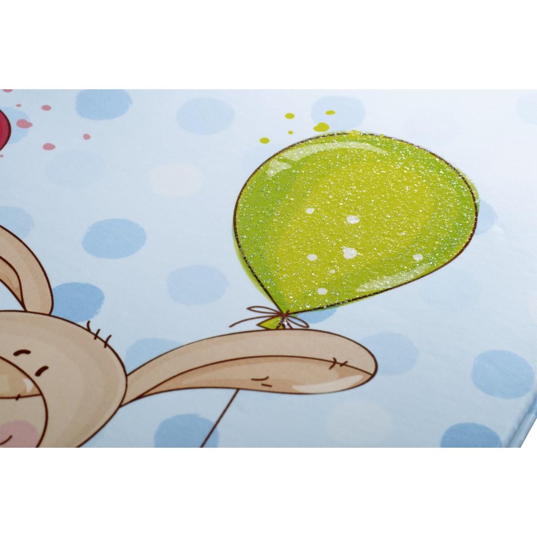 Baby-Tagebuch Kleiner Hase 20x28 cm pink