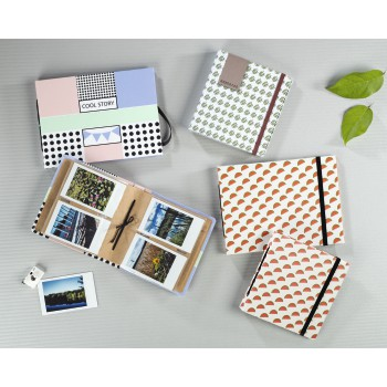 "fam Product Family - Hama, ""Melons"" Slip-In Album, for 28 Instant Photos up to max. 8.9 x 10.8 cm"