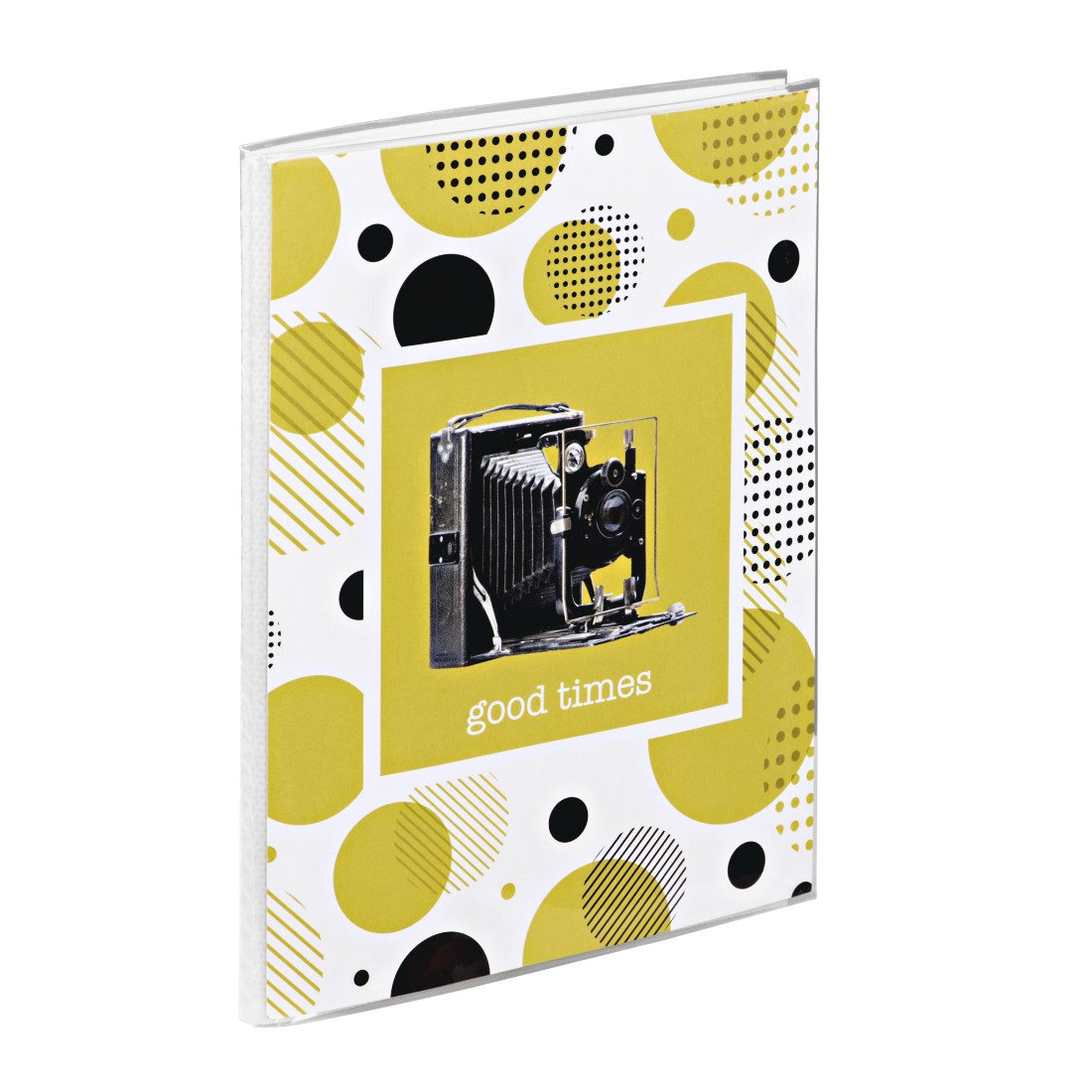 "dex7 High-Res Detail 7 - Hama, ""Camera"" Soft Cover Album for 24 Photos with a size of 10x15 cm, sorted"