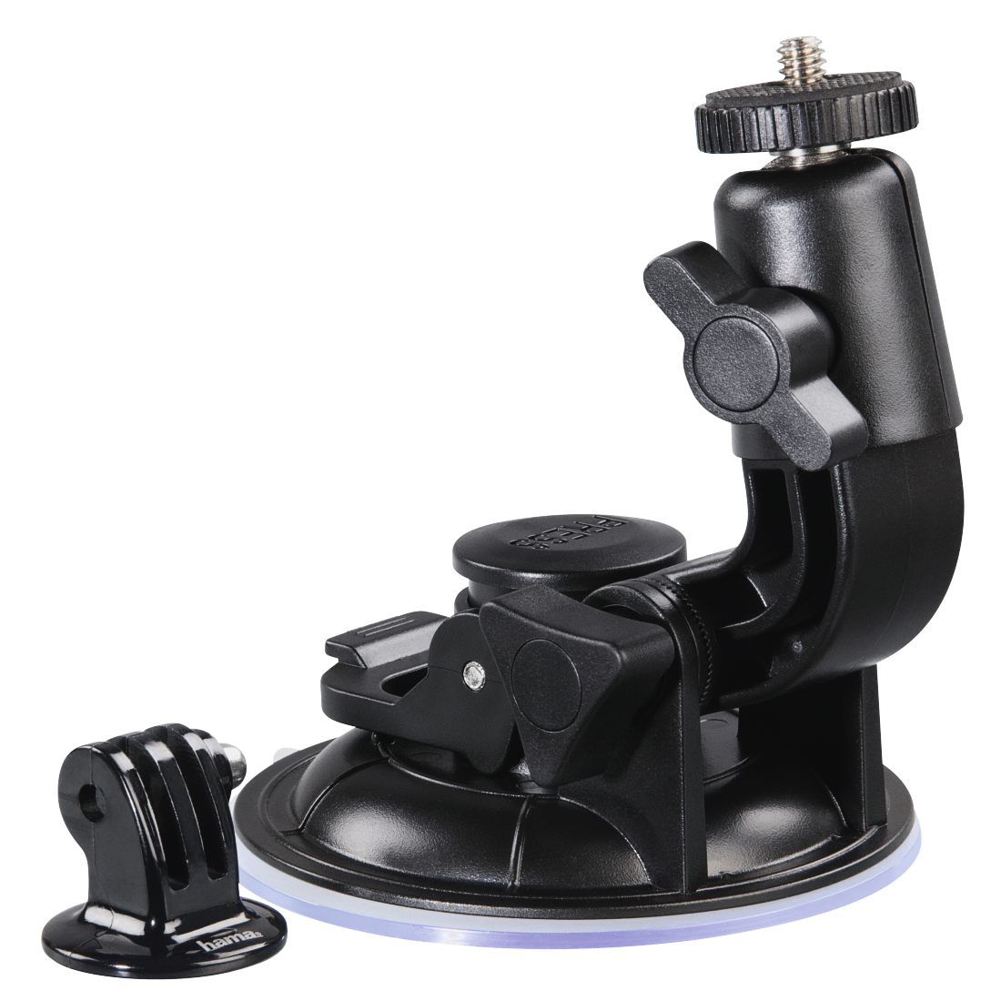 abx2 High-Res Image 2 - Hama, Suction Mount with Ball Head 360 for GoPro