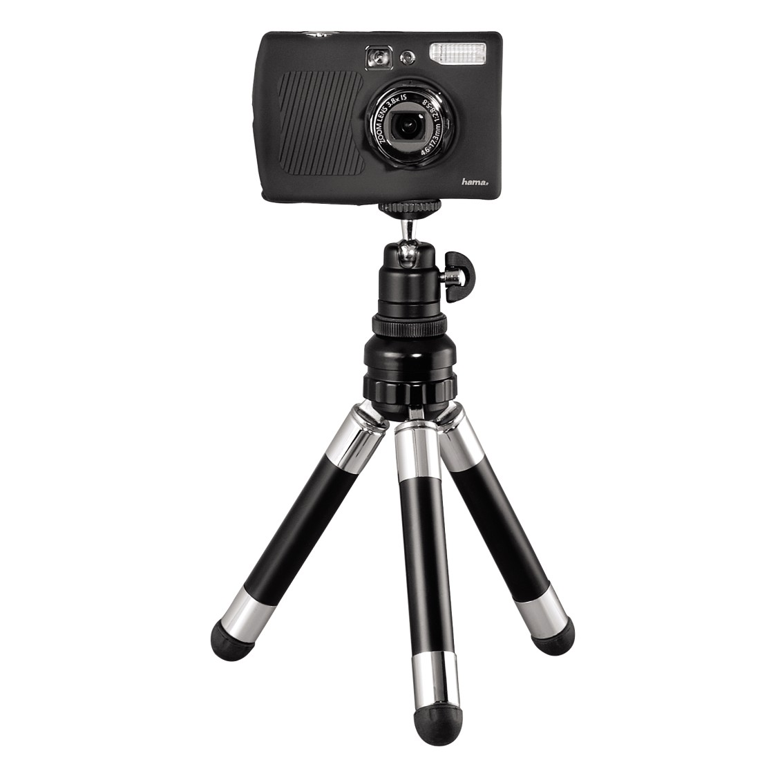 awx6 High-Res Appliance 6 - Hama, Traveller Multi Table Top Tripod, with Removable Telescopic Tube