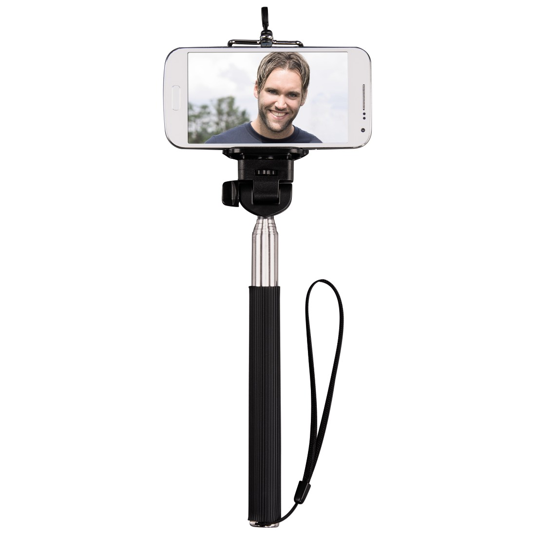 "awx High-Res Appliance - Hama, ""Moments 100"" Selfie Stick, black"