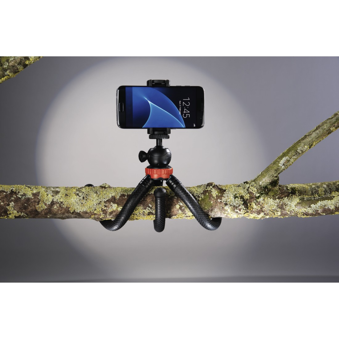 awx2 High-Res Appliance 2 - Hama, FlexPro Tripod for Smartphone, GoPro and Photo Cameras, 27 cm, red