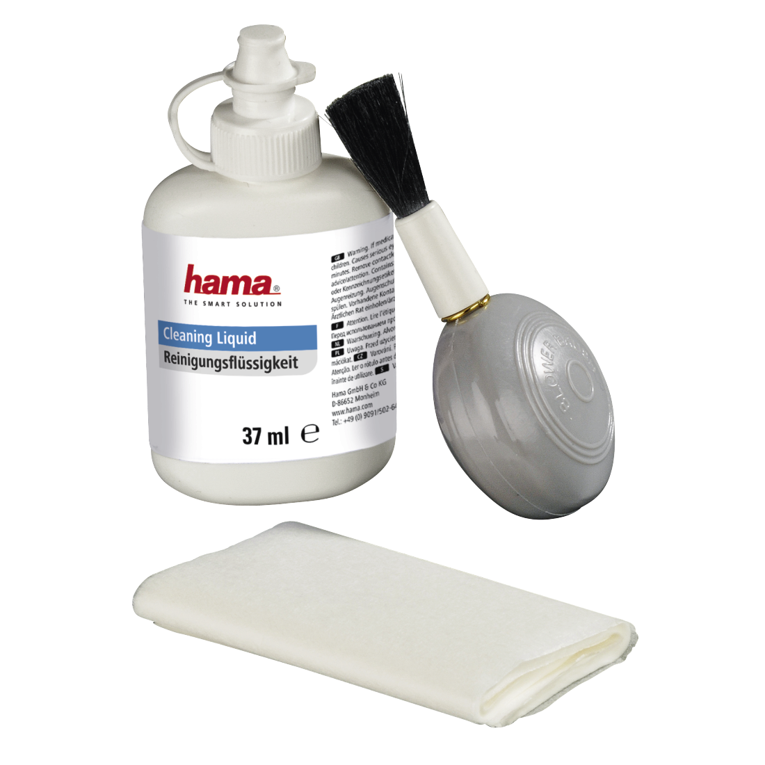 abx High-Res Image - Hama, Optik 3-Piece Cleaning Set