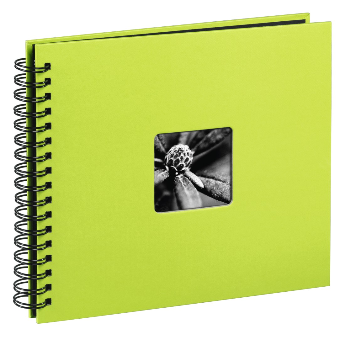 "abx High-Res Image - Hama, ""Fine Art"" Spiral Album, 36 x 32 cm, 50 Black Pages, kiwi"