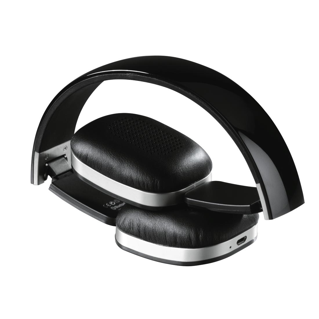 00015652 hama bluetooth stereo headset speed schwarz. Black Bedroom Furniture Sets. Home Design Ideas