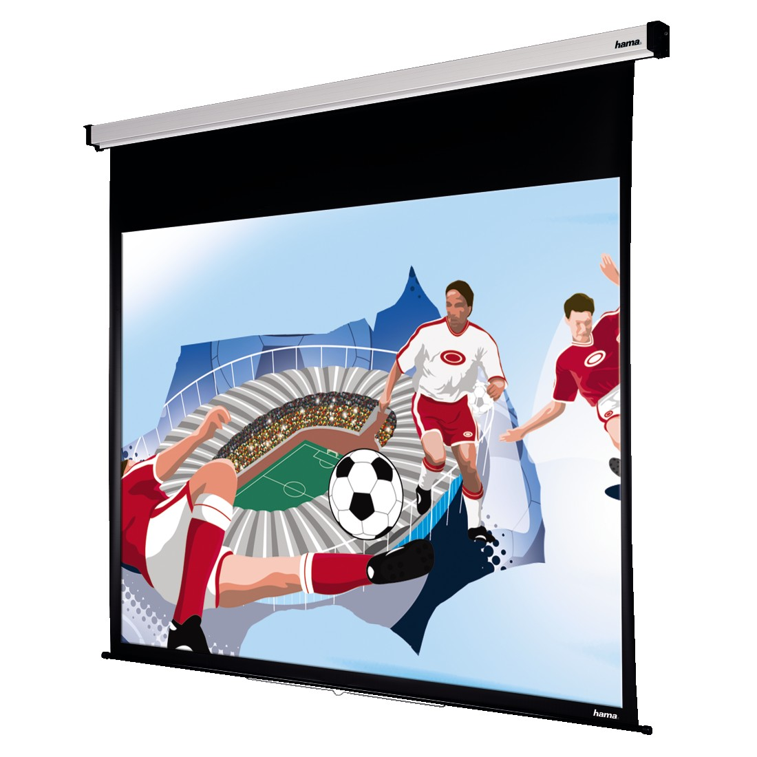 abx4 High-Res Image4 - Hama, Roller Projection Screen, 240 x 195 cm, 4:3
