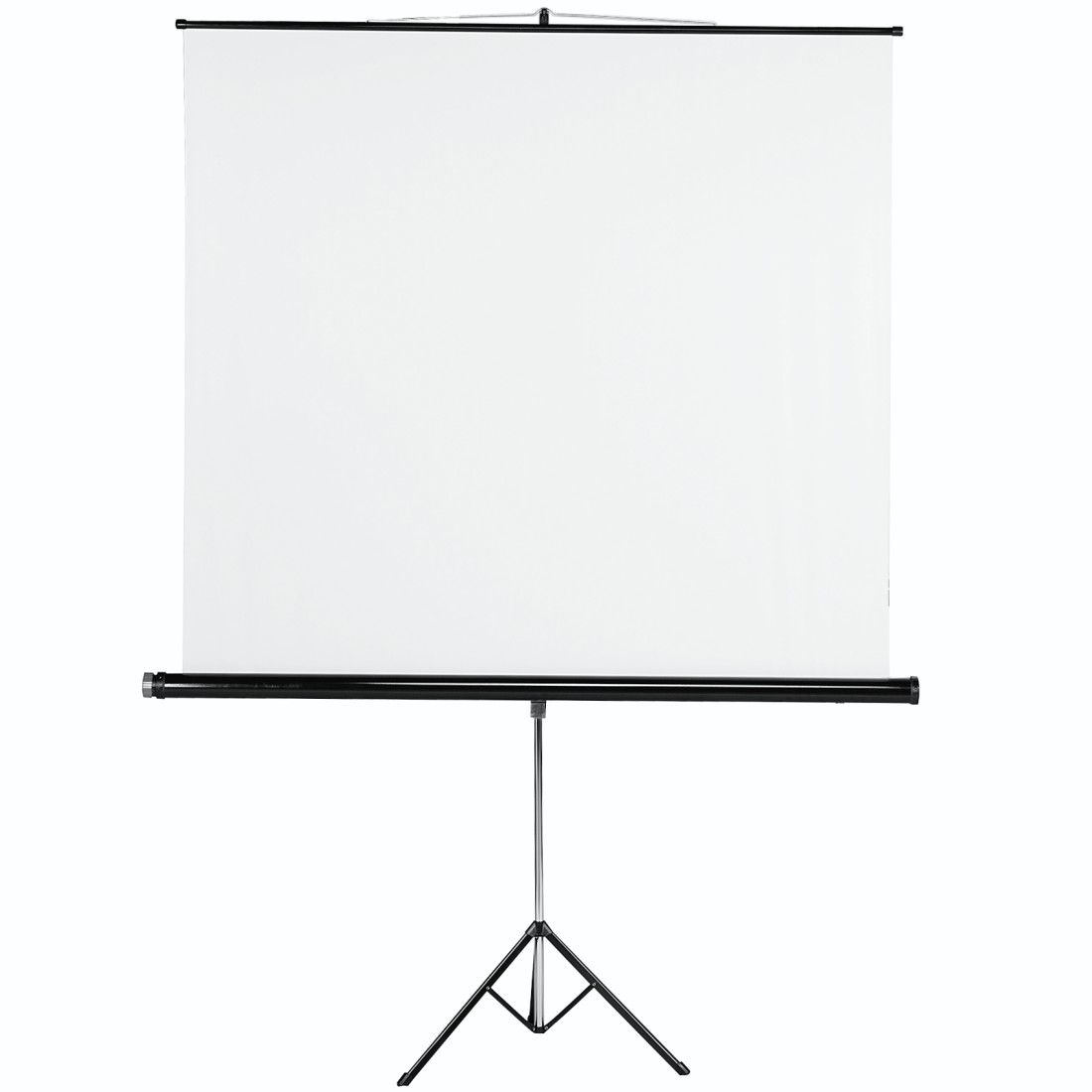 Gain Ecran De Projection 00018793 hama tripod projection screen, 155 x 155 cm, white
