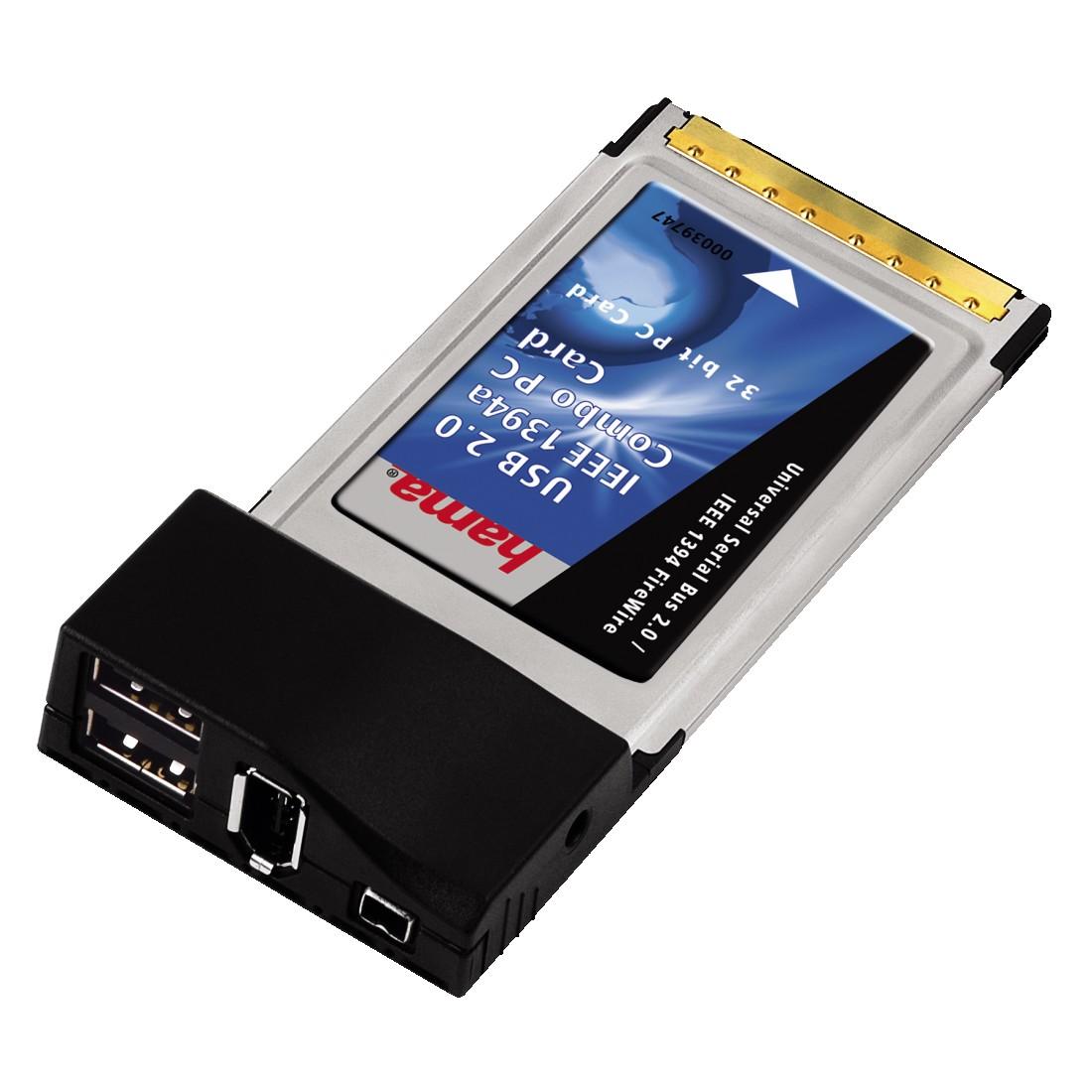 HAMA USB IEEE 1394 Firewire Combo Card Drivers for Windows