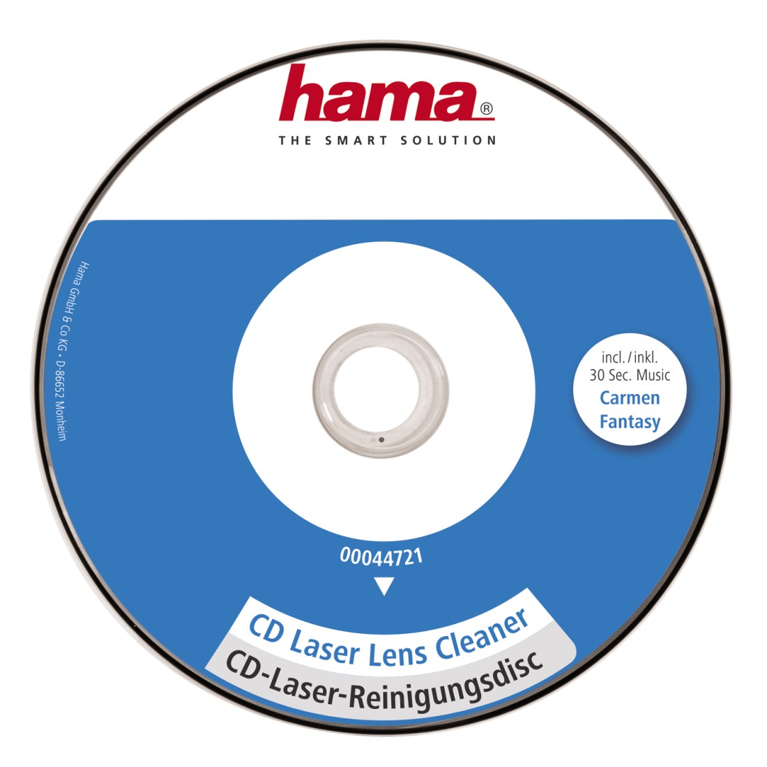 abx High-Res Image - Hama, CD Laser Lens Cleaner