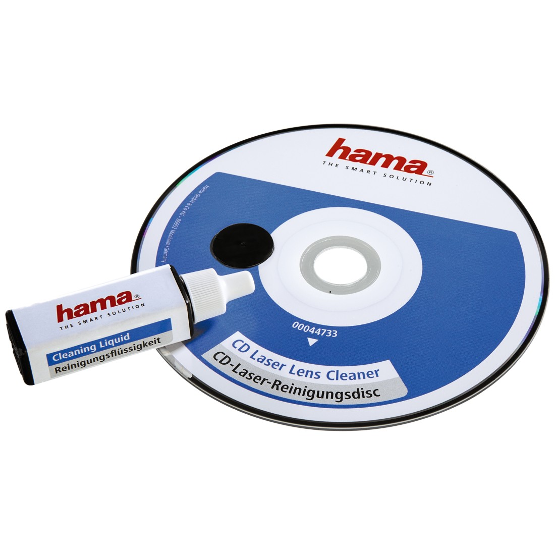 abx High-Res Image - Hama, CD Laser Cleaning Disc, with Cleaning Fluid, Individually Packaged