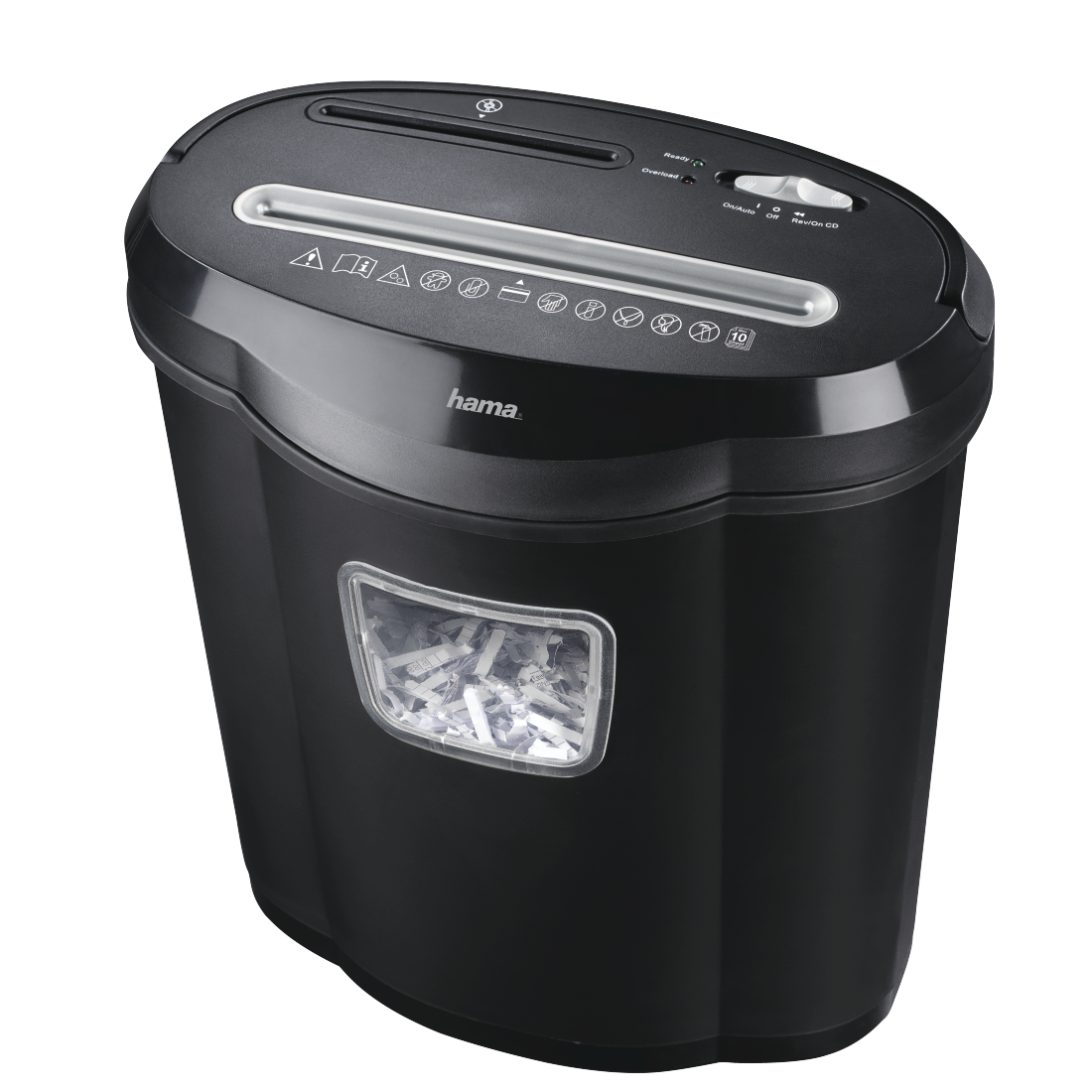 "abx High-Res Image - Hama, ""Home X10CD"" Shredder, Shredder with Security Level E2 O1 P3 T3"