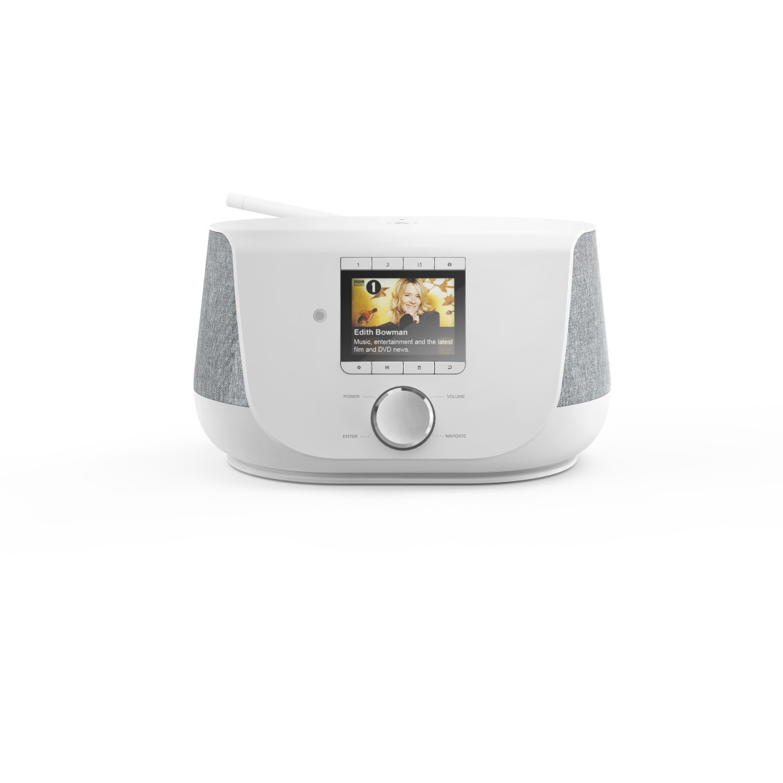 "abx High-Res Image - Hama, ""DIR3300SBT"" Digital Radio, FM/DAB/DAB+/Internet Radio/App/Bluetooth® white"