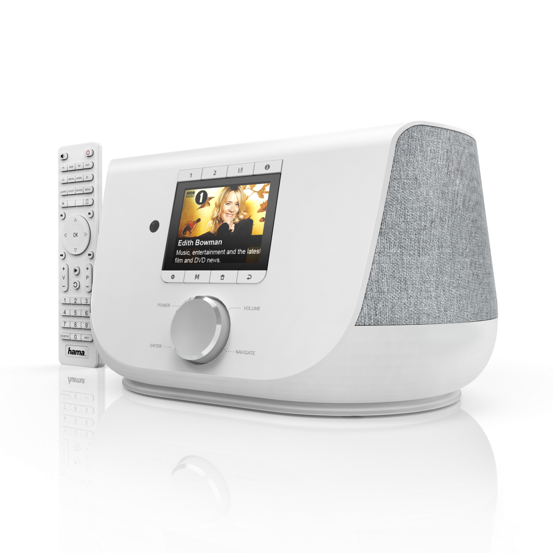 "abx3 High-Res Image 3 - Hama, ""DIR3300SBT"" Digital Radio, FM/DAB/DAB+/Internet Radio/App/Bluetooth® white"