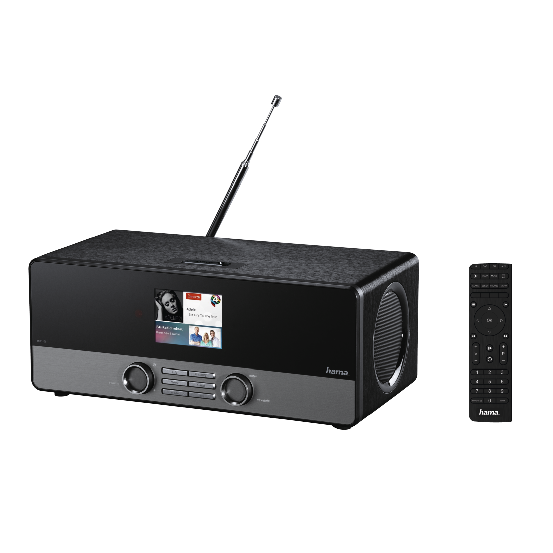 abx7 High-Res Image 7 - Hama, DIR3100MS Digital Radio, Internet Radio/DAB+/FM/Multi-Room/ App Control