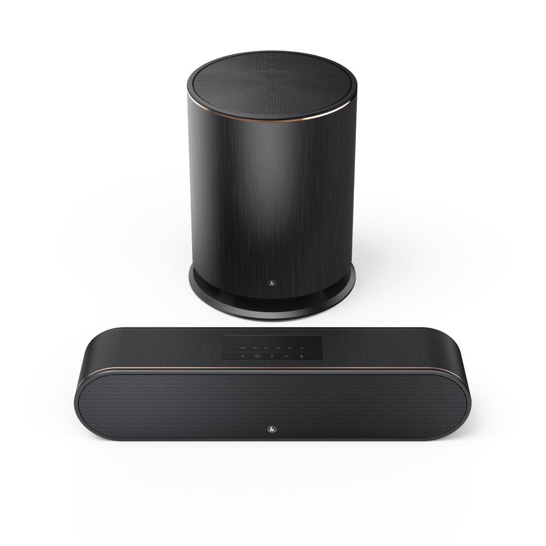 "abx Druckfähige Abbildung - Hama, Smart-Slim-Soundbar 2.1 ""SIRIUM3800ABT"" Wireless Subwoofer/Alexa/Bluetooth®"