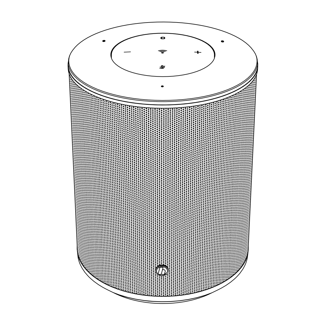 "abx7 High-Res Image 7 - Hama, ""SIRIUM1400ABT"" Smart-Speaker, Alexa/Bluetooth®"
