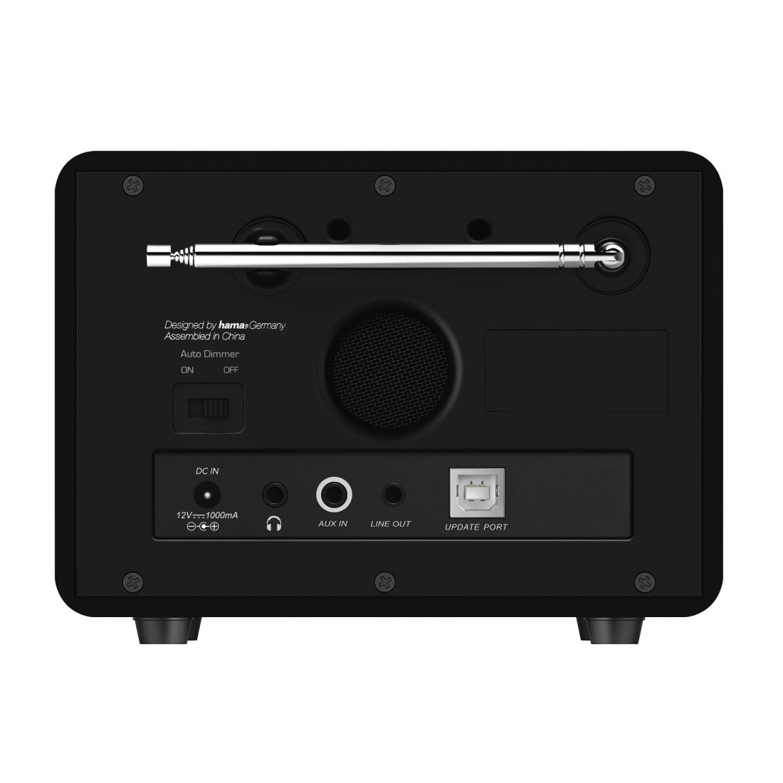 00054870 hama digitalradio dr1610bts fm dab dab. Black Bedroom Furniture Sets. Home Design Ideas