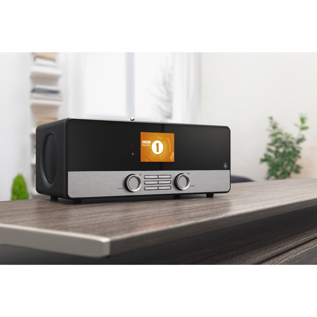 awx High-Res Appliance - Hama, DIR3100MS Digital Radio, Internet Radio/DAB+/FM/Multi-Room/ App Control