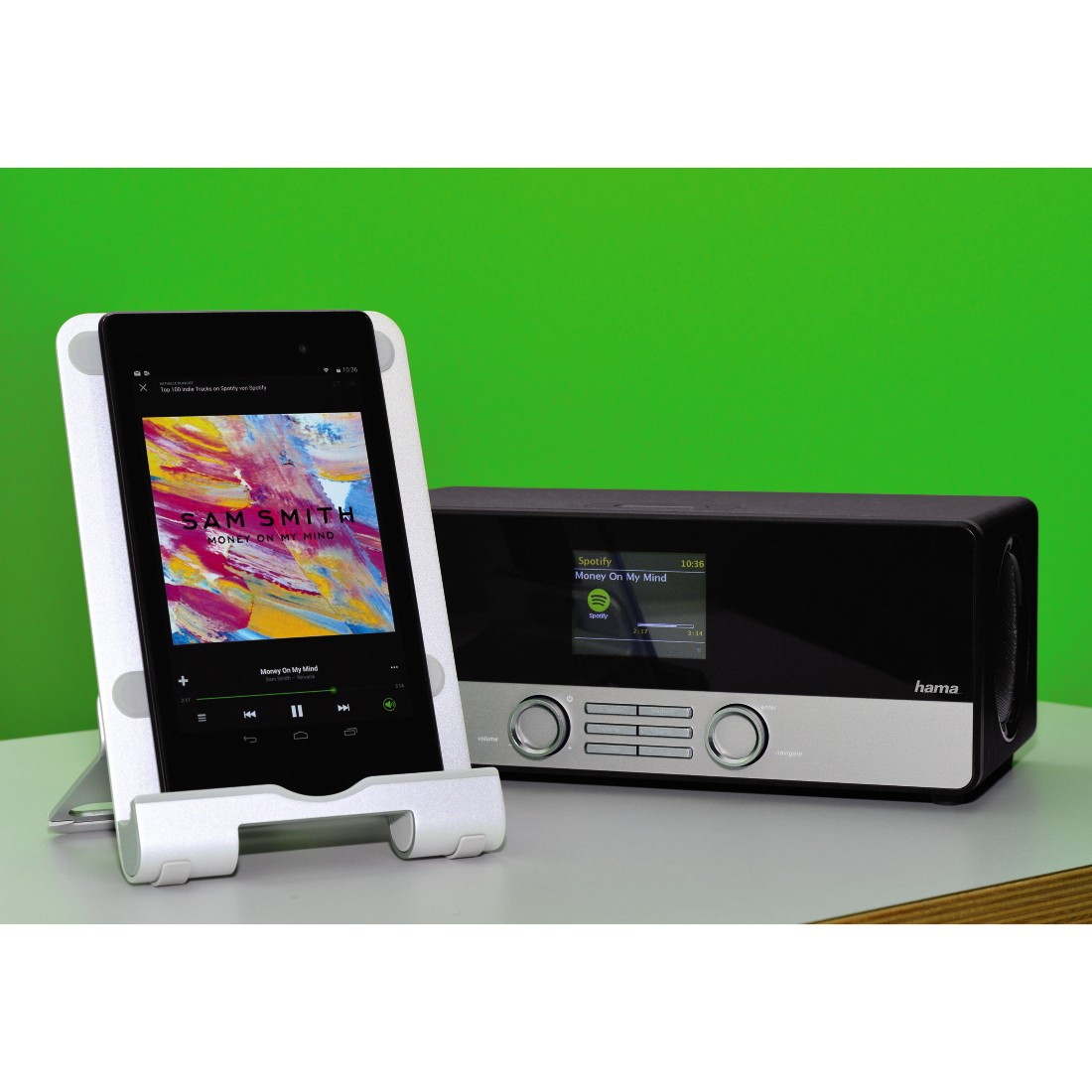awx5 High-Res Appliance 5 - Hama, DIR3100MS Digital Radio, Internet Radio/DAB+/FM/Multi-Room/ App Control