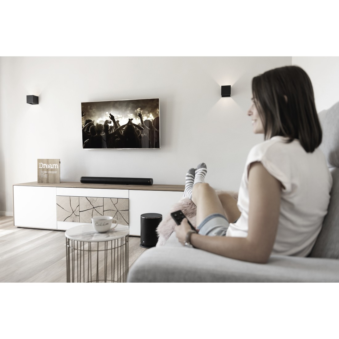 awx3 Druckfähige Anwendung 3 - Hama, Smart-TV-Soundbar 2.1 SIRIUM4000ABT, Wireless Subwoofer/Alexa/Bluetooth