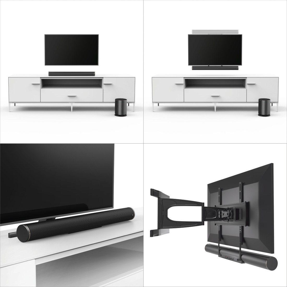 awx5 Druckfähige Anwendung 5 - Hama, Smart-TV-Soundbar 2.1 SIRIUM4000ABT, Wireless Subwoofer/Alexa/Bluetooth