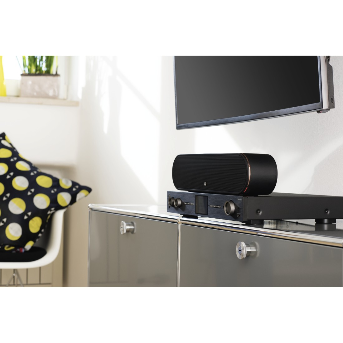 "prx Druckfähiges Pressebild - Hama, Smart-Slim-Soundbar 2.1 ""SIRIUM3800ABT"" Wireless Subwoofer/Alexa/Bluetooth®"