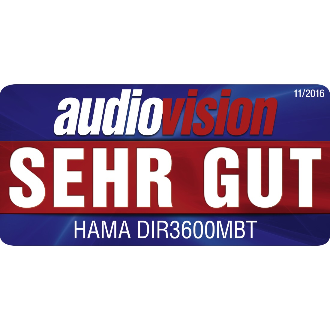 tex Druckfähiges Testurteil - Hama, Digitalradio DIR3600MBT, Internetradio/DAB+/FM/App/Multiroom/Bluetooth