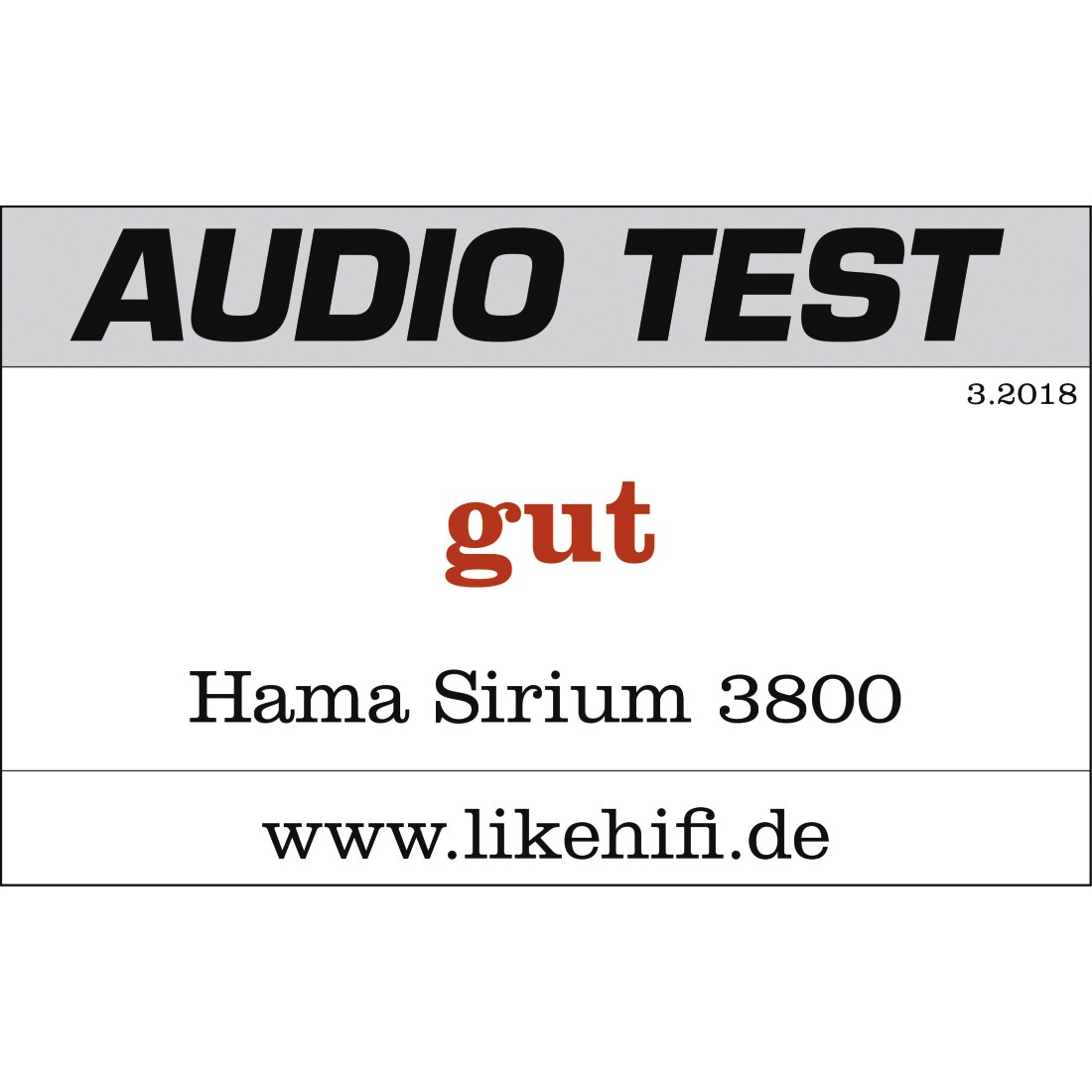 "tex2 Druckfähiges Testurteil 2 - Hama, Smart-Slim-Soundbar 2.1 ""SIRIUM3800ABT"" Wireless Subwoofer/Alexa/Bluetooth®"