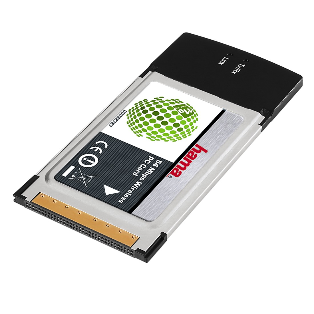 abx High-Res Image - Hama, Wireless LAN PC Card 54 Mbps