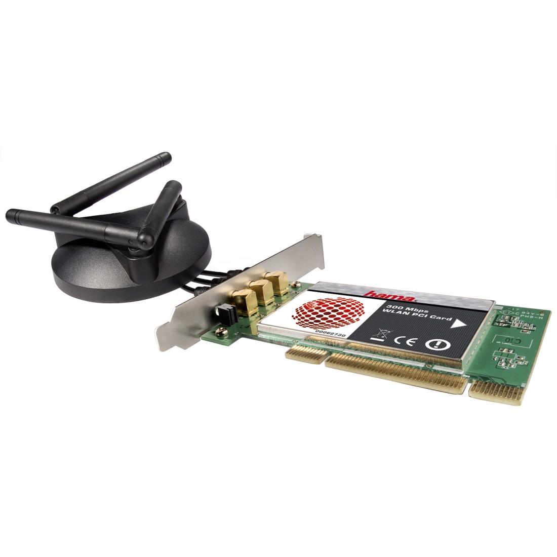 HAMA 300 Mbps WLAN PC Card Windows 7 64-BIT