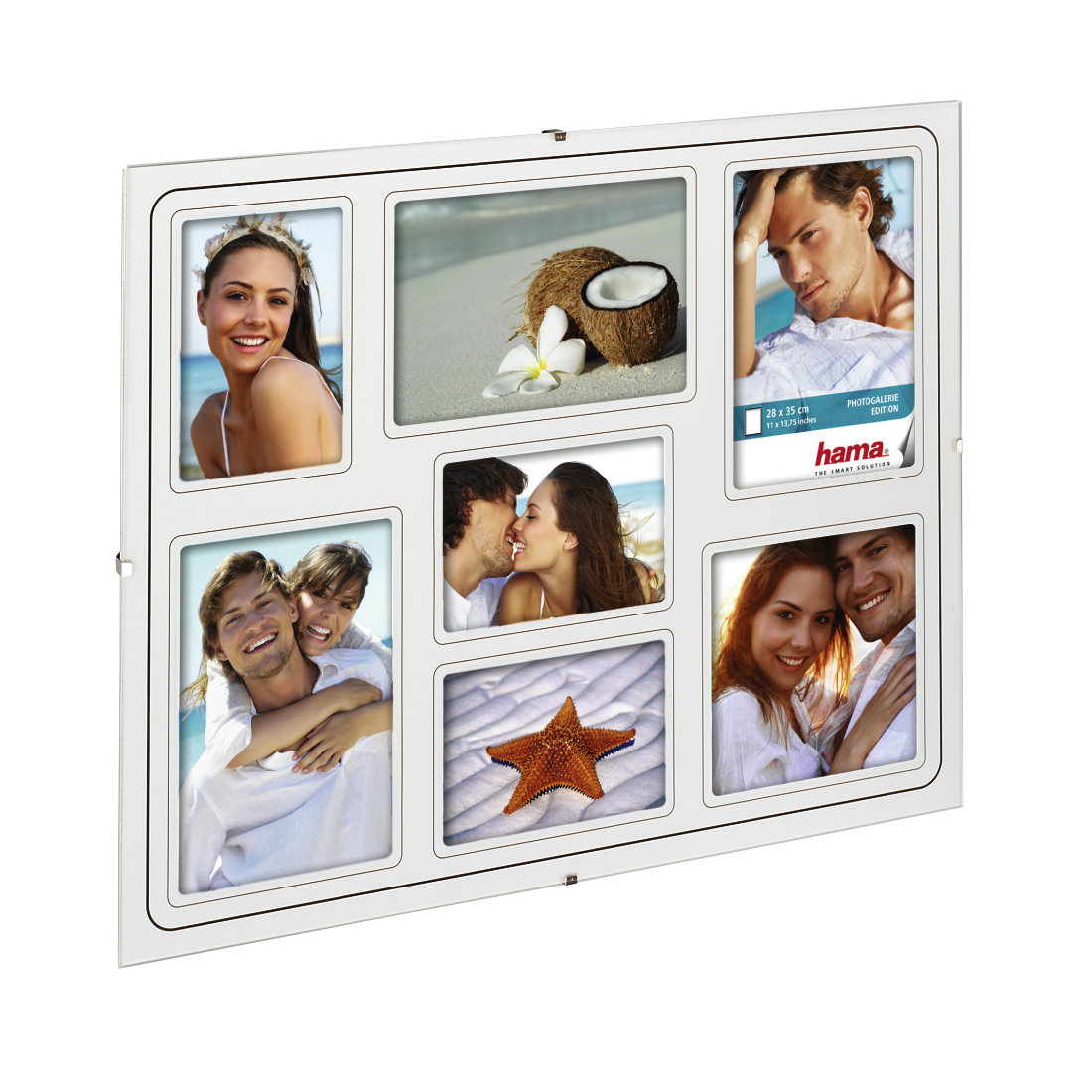"abx2 High-Res Image 2 - Hama, ""Clip-Fix"" frameless Photo Gallery, normal glass, 28 x 35 cm"