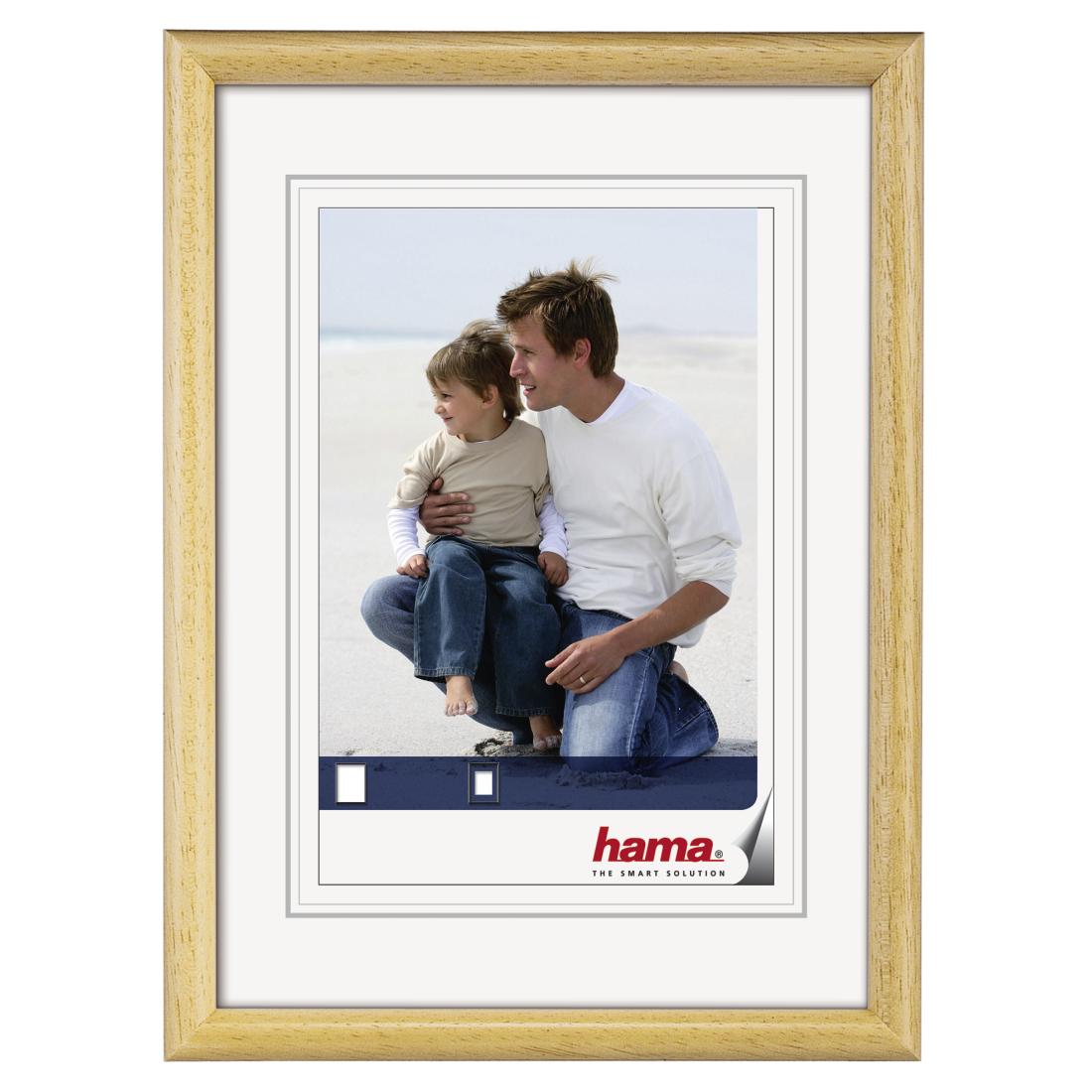 00064565 Hama Wooden Frame Oregon Nature 30 X 40 Cm Hama De