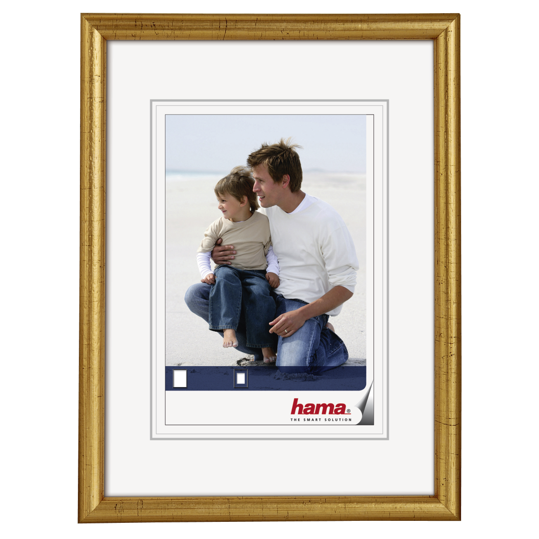 00064709 Hama Wooden Frame Oregon Gold 18 X 24 Cm Hama De